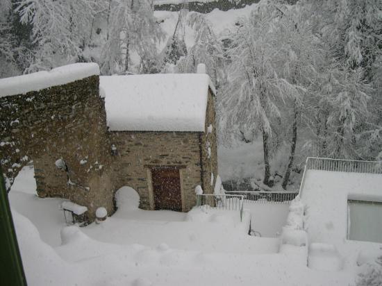 U Vecchju Mulinu sous la neige en février 2010