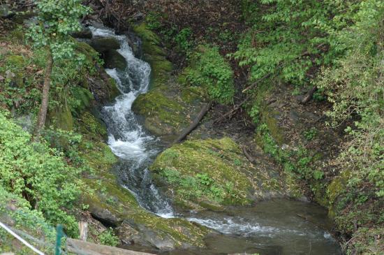 cascade près du moulin
